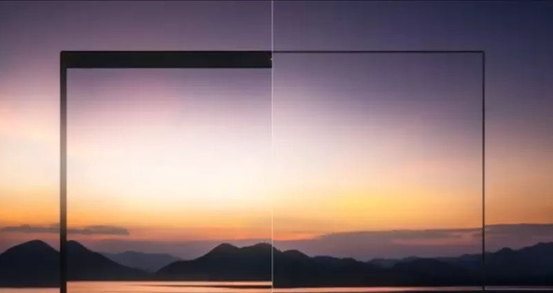 thinner laptop bezels