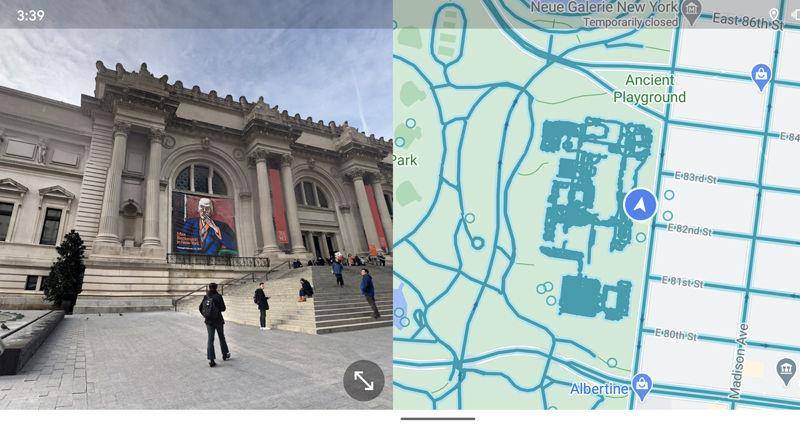 Split-screen Street View finally arrives on Google Maps