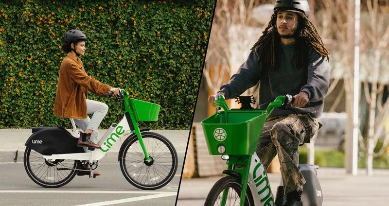 Lime newest e-Bike