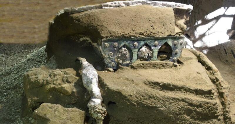 chariot of Pompeii