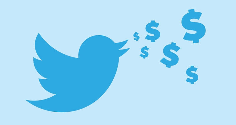 twitter with money