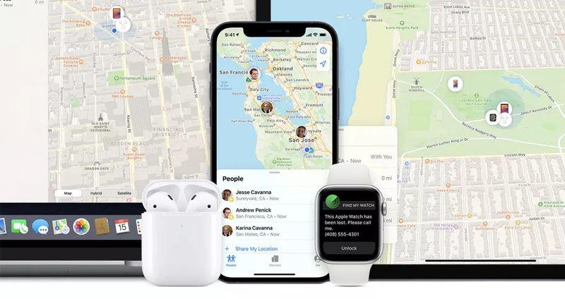 Apple Find My app