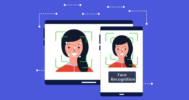 AI based face recognitio