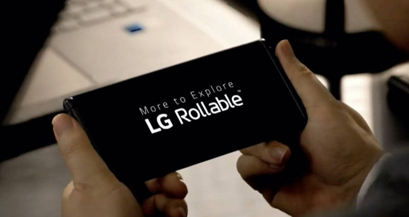 The LG Rollable