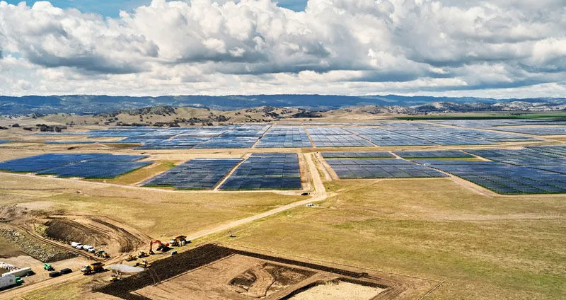 California Flats solar farm