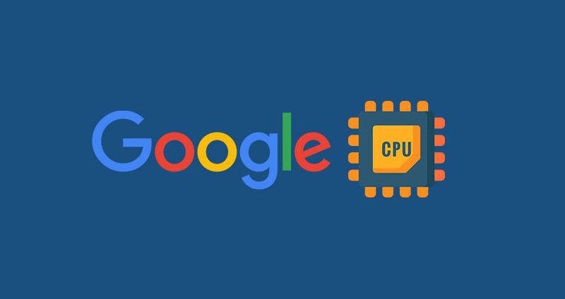 google cpu