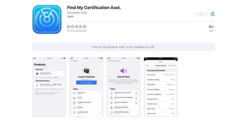 Find My Certification Asst