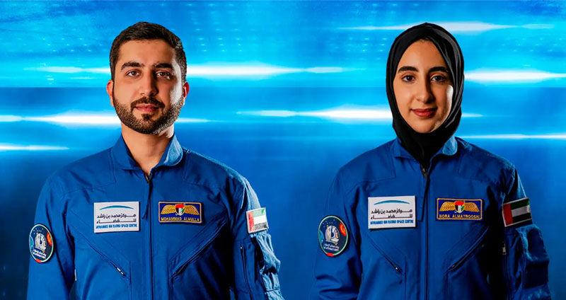 United Arab Emirates names 2 new astronauts