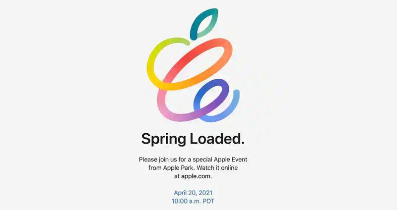 apple spring loade
