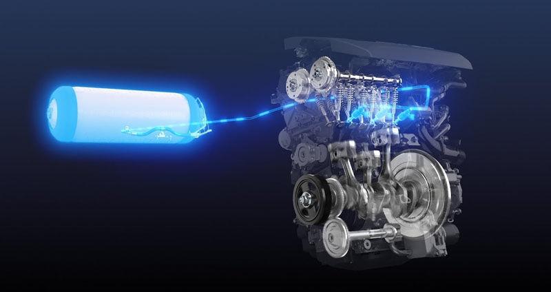 hydrogen-powered