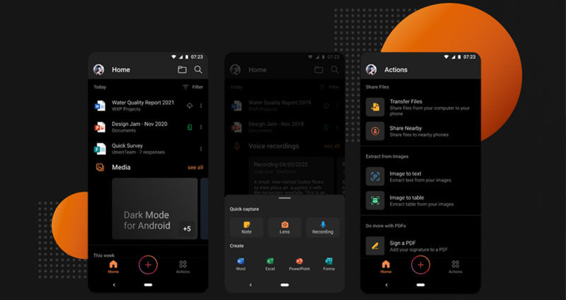 Microsoft Office for Android finally gets dark mode