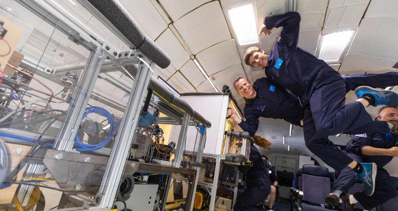 Zero-gravity space fridge