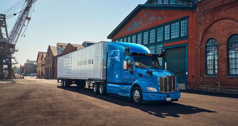 Waymo autonomous truck
