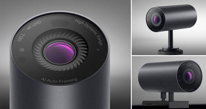 Dell UltraSharp 4K webcam