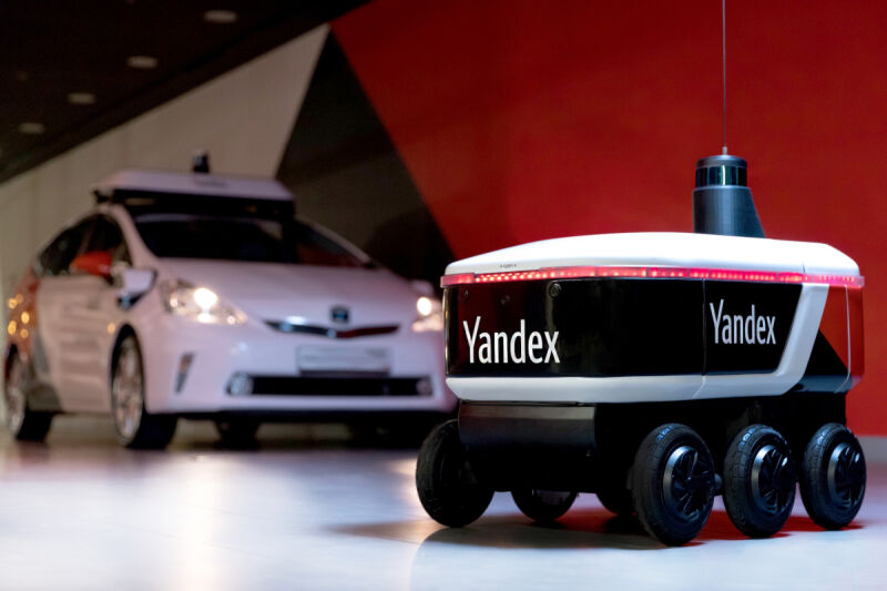 YandexRover_delivery_robot