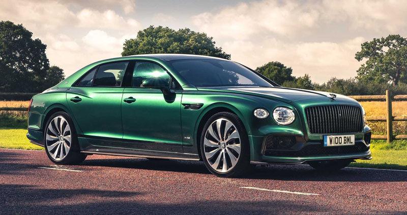 Bentley plug-in hybrid Flying Spur