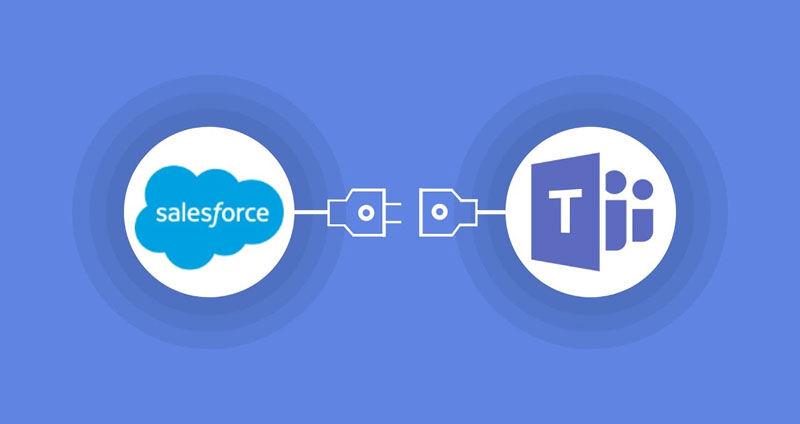 Microsoft Teams and salesforce