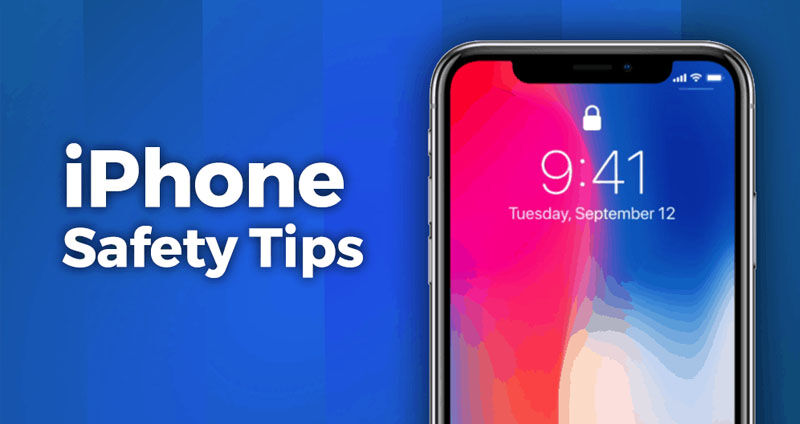 iphone safety tips