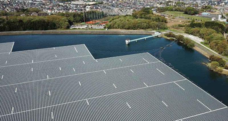 The Sembcorp Tengeh Floating Solar Farm