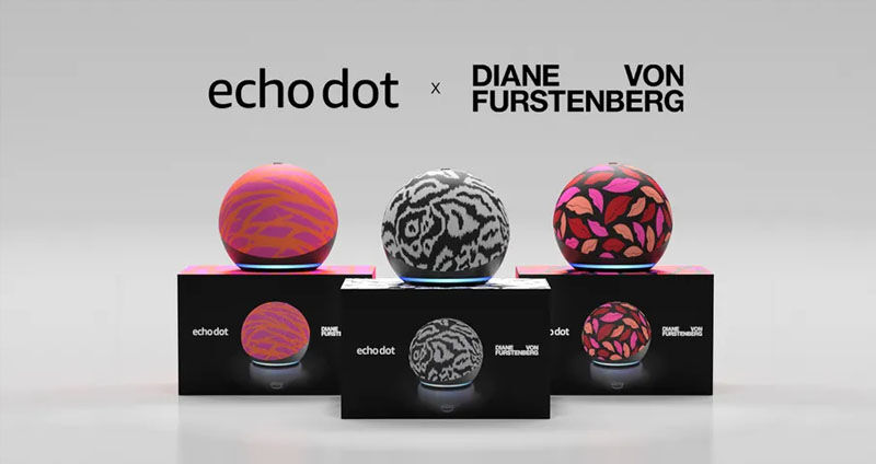 Echo Dot x Diane von Furstenberg