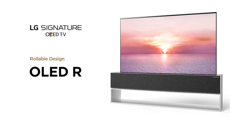 LG rollable OLED R