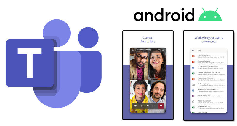 teams on android