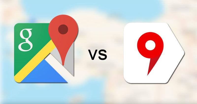 google Maps and Yandex Maps