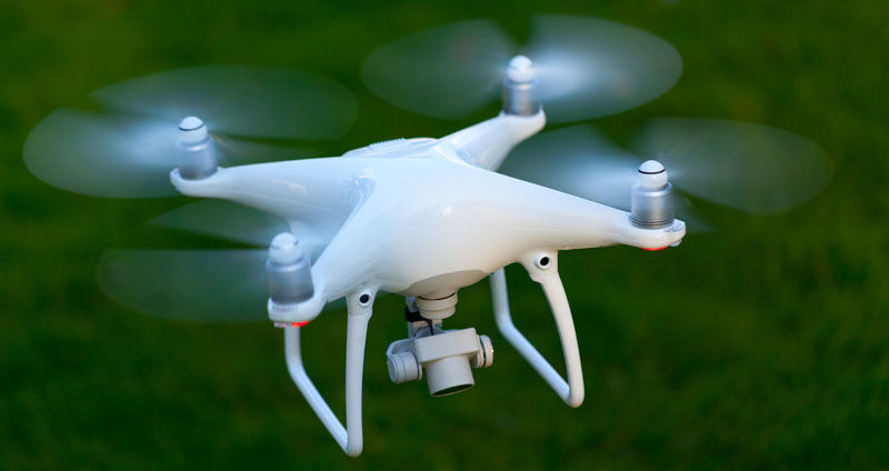 Fly drones with microwaves