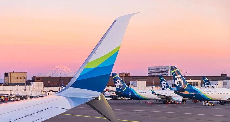 Alaska Airlines airplanes