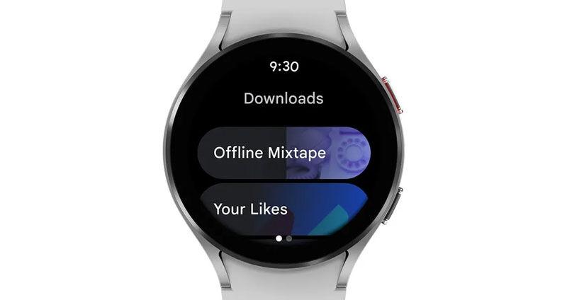 YouTube Music Wear OS APP