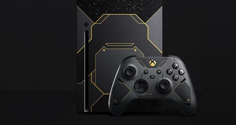 Microsoft Halo-themed Xbox Series X