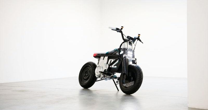BMW new CE 02 mini-bike